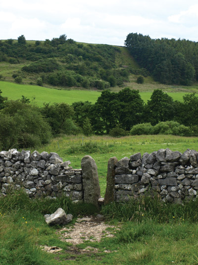 Stile on the Sheen path